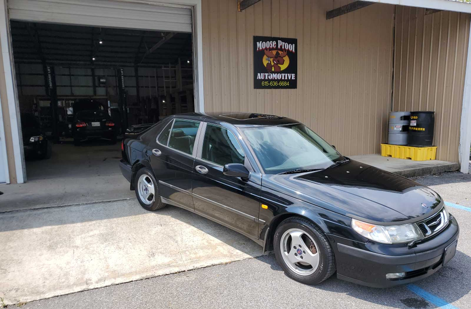 Saab repair at Moose Proof Automotive